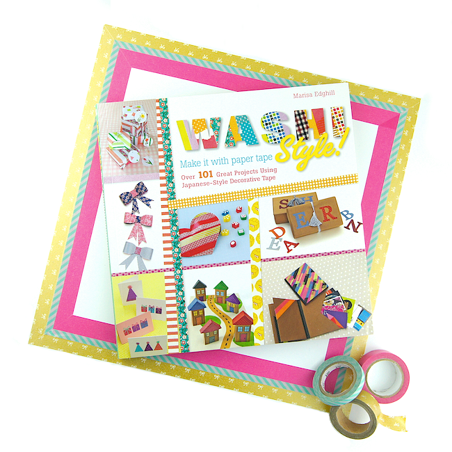 MY NEW BOOK - WASHI STYLE!