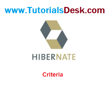 Hibernate Criteria Tutorial with examples