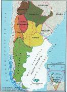Desastres Naturales mapa climas argentina