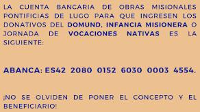 Nº de cuenta Delegación Lugo