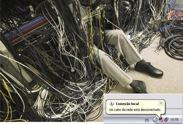 cabo desconectado