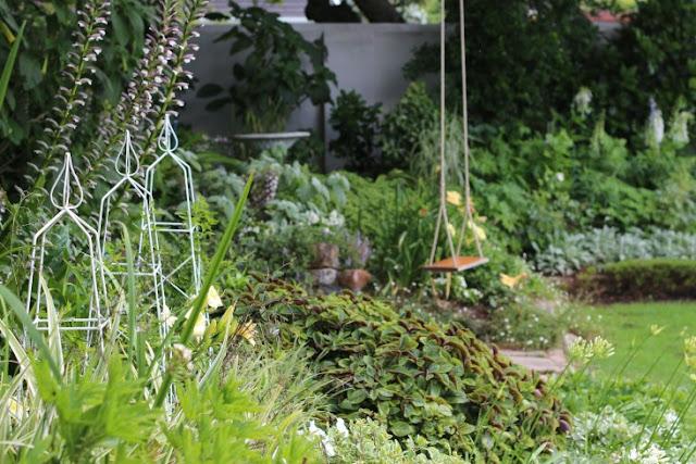 khu vườn hài hòa
