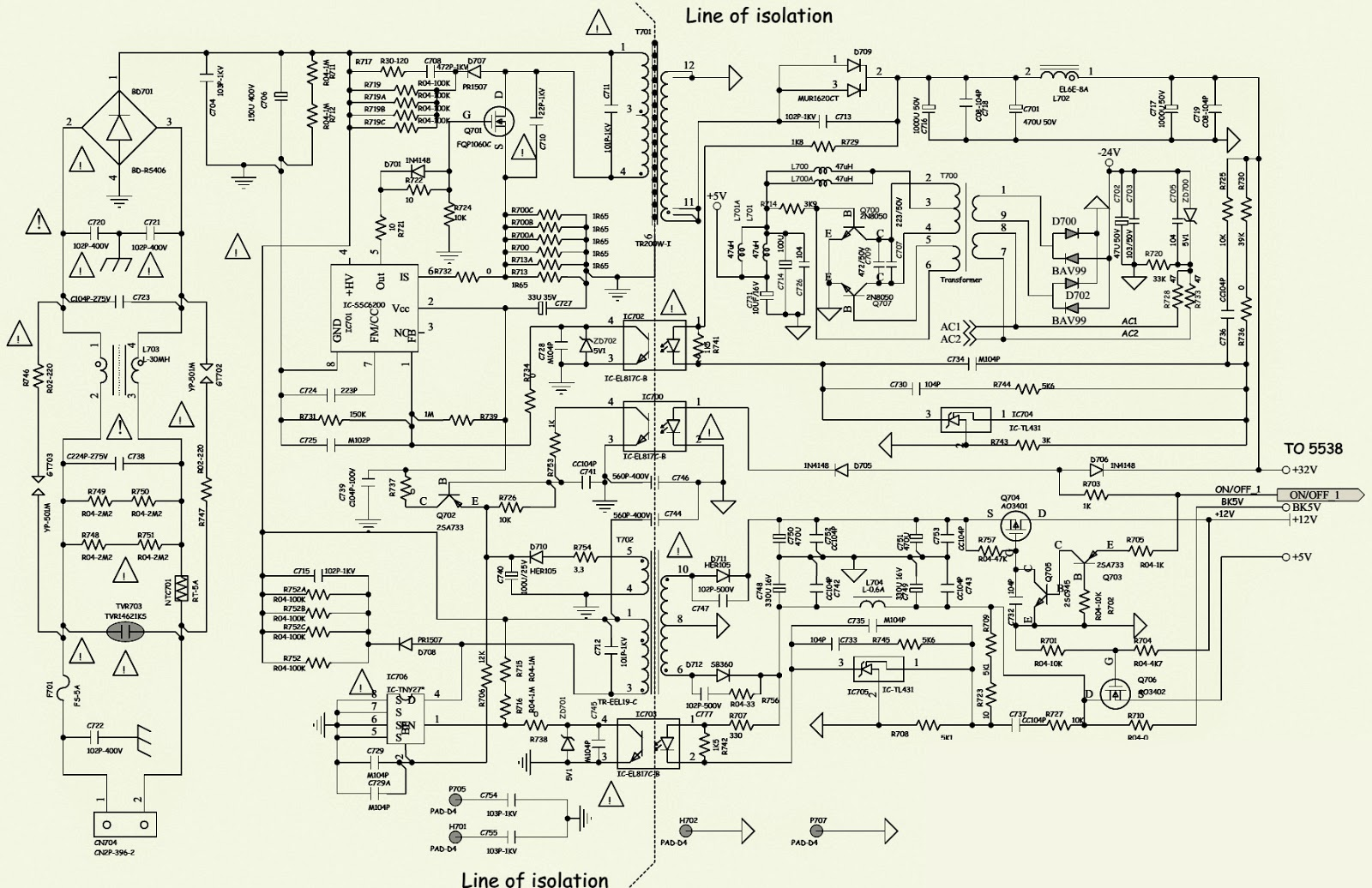 philips fwp2000 network music player smps[power supply) \u0026 powerphilips fwp2000 network music player smps[power supply) \u0026 power amplifier schematic