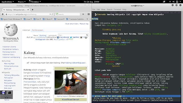 Jelajahi Dunia Maya dengan lynx Browser Versi Teks di Linux