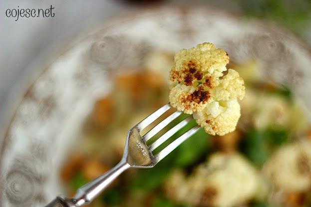 Sałatka dietetyczna z kalafiorem
