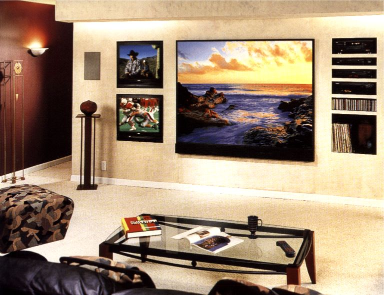 Modern House Designs Ideas: Ideas For Build A Home Theatre