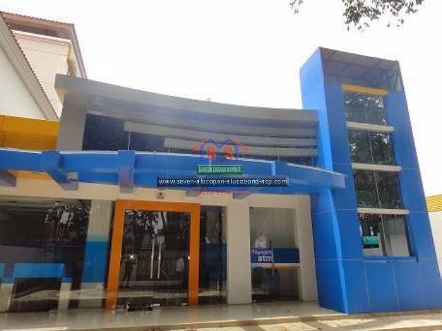 PROYEK ALUMINIUM COMPOSITE PANEL  - BANK NTB - BSM