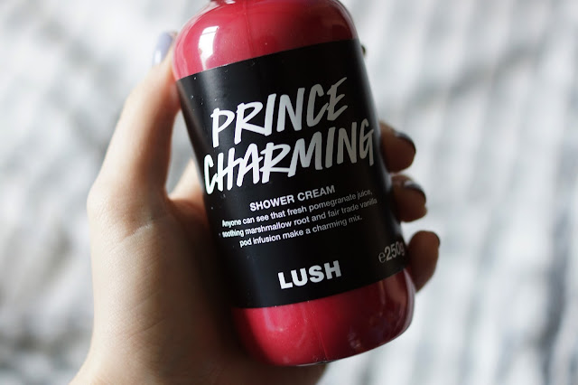 Hello Freckles LUSH Valentines Day Range Prince Charming Shower Cream