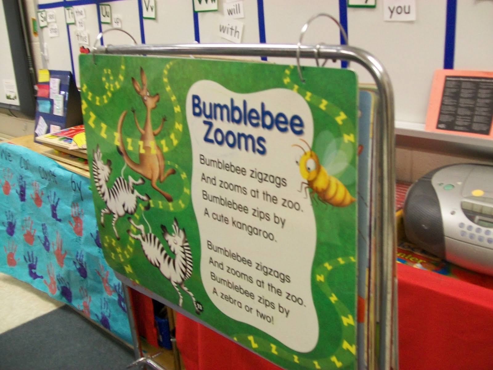 preschool writing center ideas