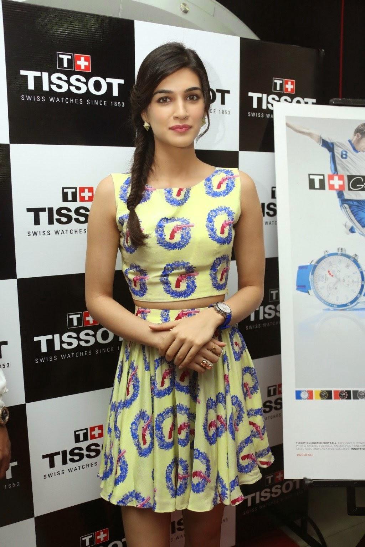 Sweet Actress Kriti Sanon Latest Photoshoot in Skirt