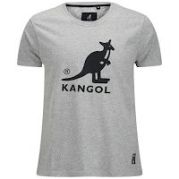 Kangol Men's Bando Printed T-Shirt - Grey Marl