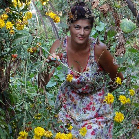 vestido campo de flores