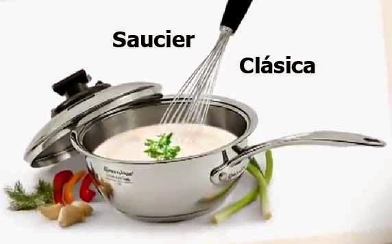 Utensilios de cocina rena ware per cocine con la saucier for Precios de utensilios de cocina rena ware