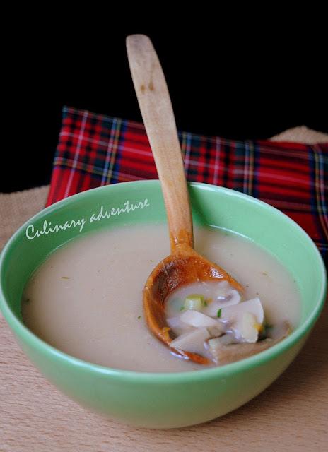 Гъбена супа от сушени манатарки и пресни печурки / Dried Porcini Mushroom Soup