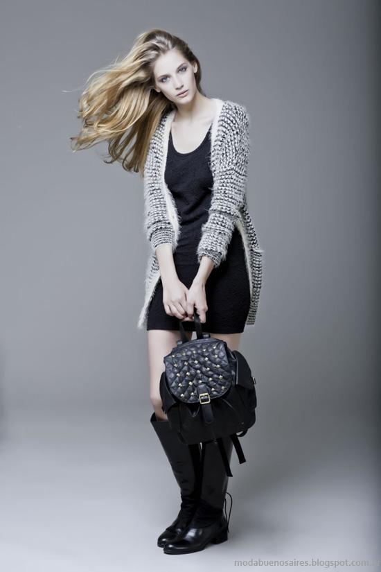Sacos de lana moda otoño invierno 2014 Koxis.