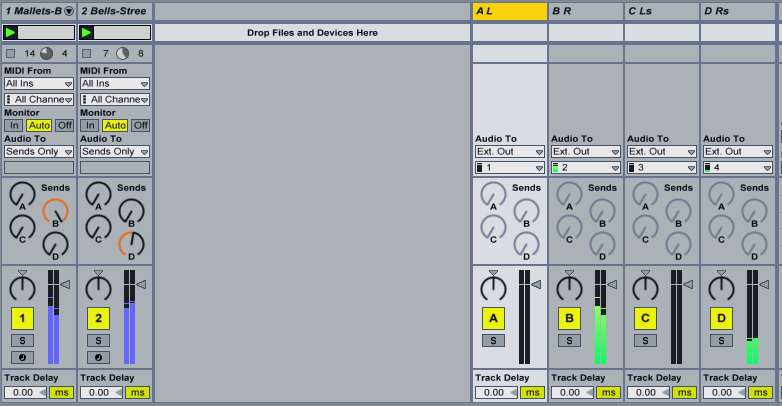 how to clear a set in ableton live 9