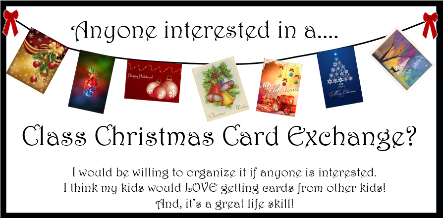 Empowered By THEM: Christmas Card Exchange