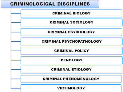 Criminology disciplines