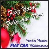 Laranjeiras do Sul:FIAT CAR Multimarcas deseja a todos um Feliz Natal e um próspero ano novo