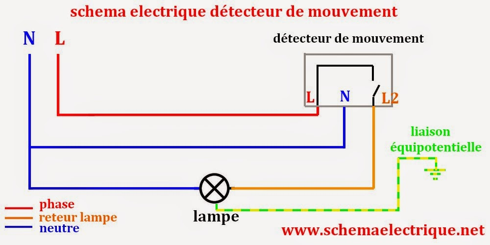 Schema Electrique Simple :