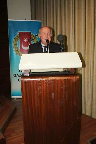 32. Burhan Felek Basın Hizmet Ödülleri Törenindeki Konuşmam