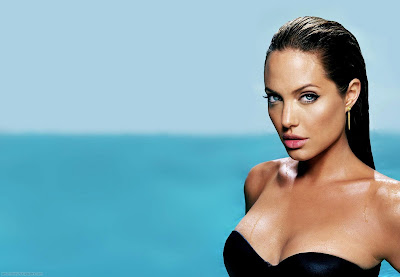 Actress Angelina Jolie Wallpaper