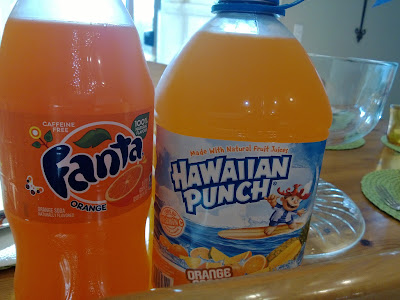 64 oz. Orange Hawaiian Punch 2 liter of Orange Fanta Kroger Orange ...