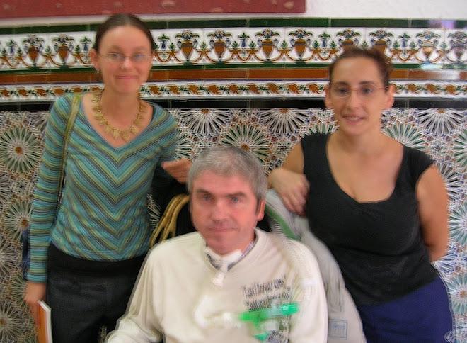 MARIE BAN, MARIA CONCEPCIÓN PEREZ Y PACO.