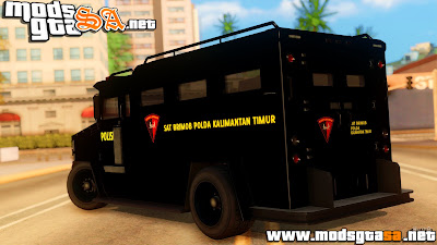 SA - Sat Brimob Skin Enforcer do GTA V