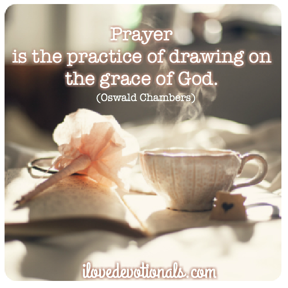 Oswald chambers quote on prayer