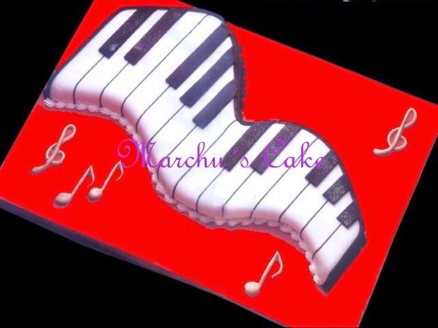 Torta  adultos piano