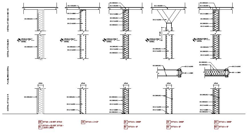 Wall Type Details : Making your wall partition quot schedule an actual