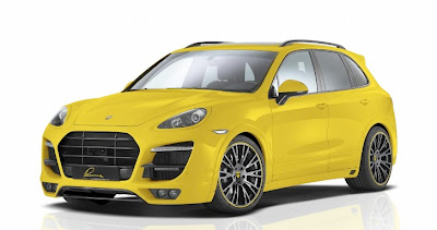 Lumma Unveils New Porsche Cayenne Body Kit