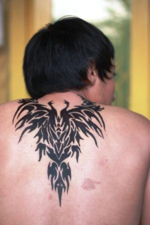 Membuat Tattoo temporer sendiri Making Your Own Temporary Tattoo