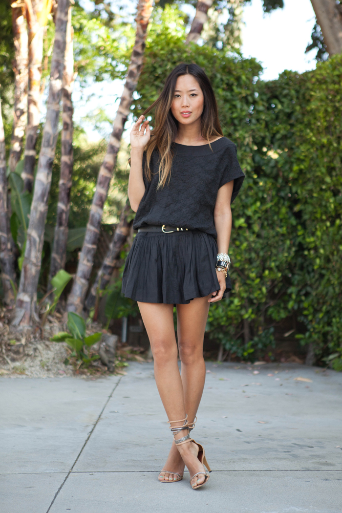 Summer Black Dress Song Of Style