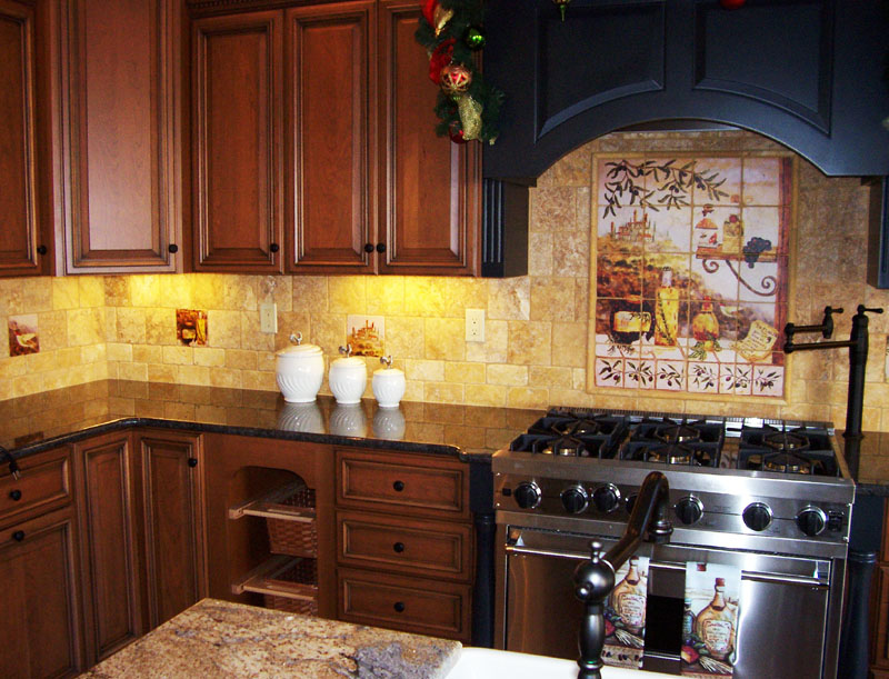 home interior design decor tuscan style kitchens