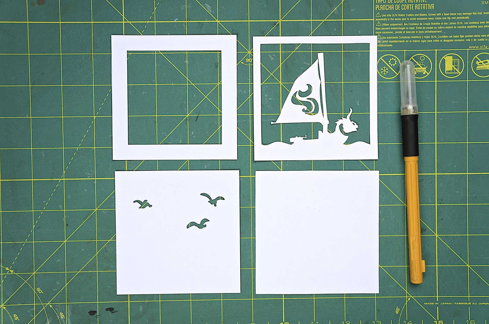 otaku crafts mini paper lightbox ornaments. Black Bedroom Furniture Sets. Home Design Ideas