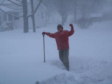 Winter shovelling