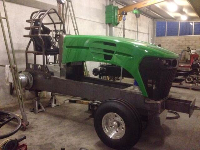 Pro Stock Pulling Tractors : Tractor pulling news pullingworld new component pro