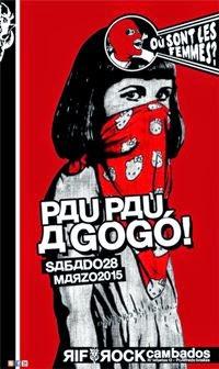 28 mar: Pau Pau a Go-Gó!