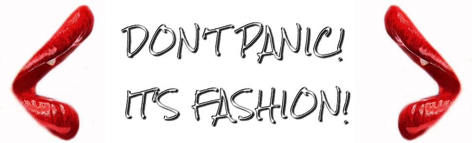 Don't panic! It's fashion!