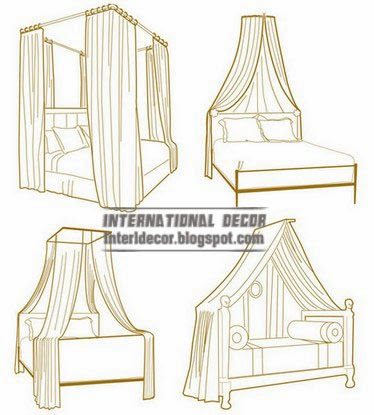 design of canopy bed, canopy beds for girls room
