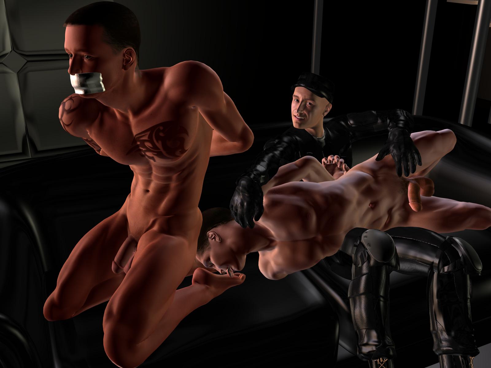 3D Bondage Art
