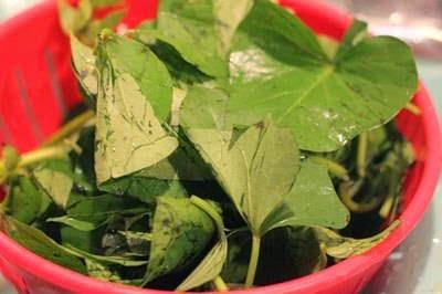 Sweet Potato Leaves Soup Recipe - Canh Rau Khoai Lang
