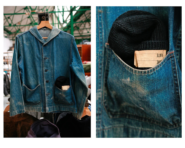 U.S.N DENIM FATIGUE JKT