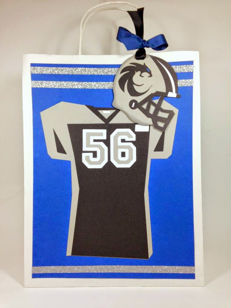 Cricut Football Gift Bag