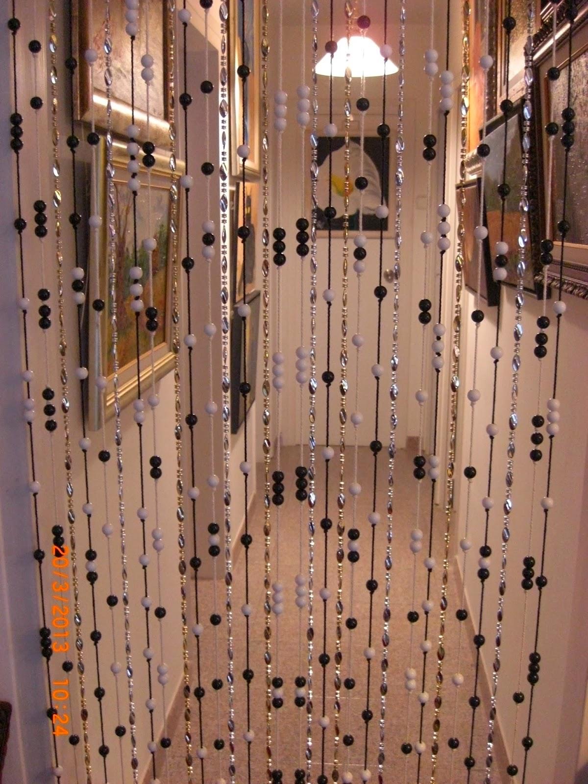 Enquedistraigoeltiempo cortina reciclado de trozos de - Cortinas de abalorios ...