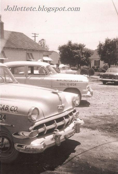 Burlington Cab Company 1956