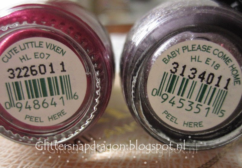 OPI - Pulled Out a Plum & OPI - Baby Please Come Home