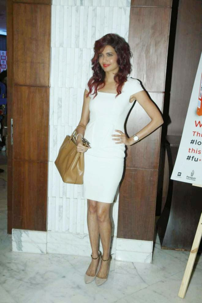 Karishma Tanna Looks Sexy In White Cocktail Dresses Photos